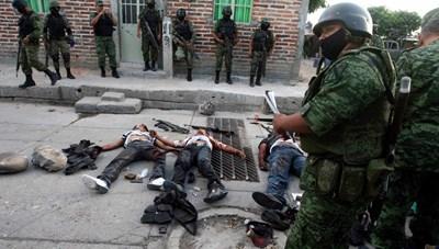 Mexico: 'Ngày đẫm máu' và 'Tháng bạo lực'
