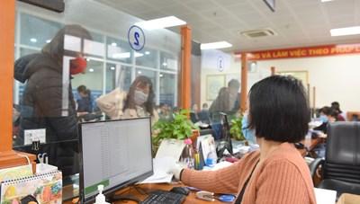 9/65 dịch vụ công BHXH trên Cổng dịch vụ công quốc gia