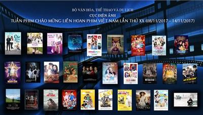 Chiếu phim miễn phí chào mừng LHP Việt Nam lần thứ XX