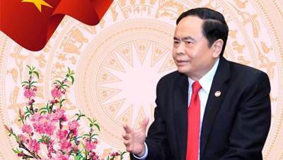 Chủ tịch Trần Thanh Mẫn gửi thư chúc mừng năm mới