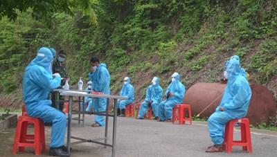 Nghệ An: Nhập cảnh trái phép, 7 công dân được đưa đi cách ly tập trung
