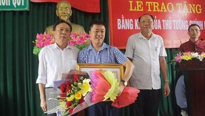 Cứu người đuối nước, được Thủ tướng tặng Bằng khen