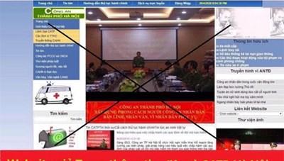 Cảnh báo tài khoản giả danh Công an Hà Nội để chiếm đoạt tài sản