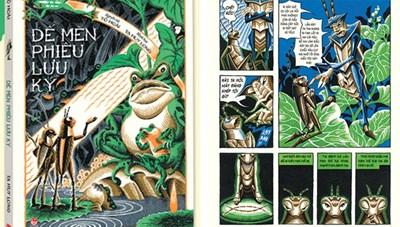 'Dế Mèn phiêu lưu ký' phiên bản truyện tranh