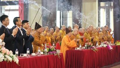Đại lễ tưởng niệm ngày Phật Hoàng Trần Nhân Tông nhập niết bàn