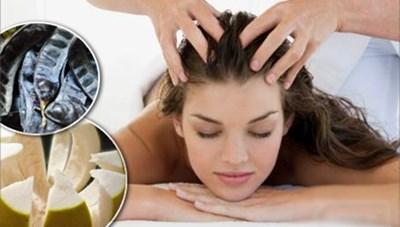 Dầu gội tự chế có thể làm rụng tóc