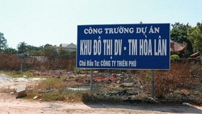 Khởi tố, bắt tạm giam Chủ tịch Công ty Thiên Phú lừa tiền đền bù tái định cư