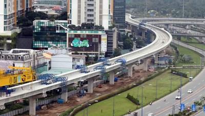 Điều chỉnh tổng mức đầu tư 2 dự án đường sắt đô thịTP HCM