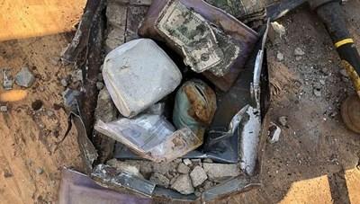 Dọn nhà, cặp vợ chồng tìm thấy kho báu chôn sau vườn
