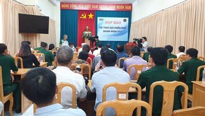 Hơn 200 vận động viên tham gia Hội thao Cựu chiến binh - Doanh nhân 2019