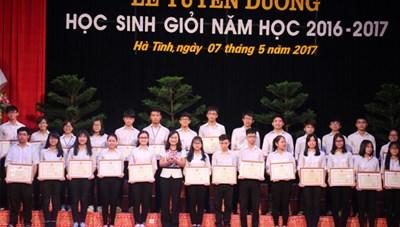 Hà Tĩnh có tỷ lệ học sinh giỏi quốc gia cao nhất cả nước