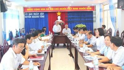 Khánh Hòa: Giám sát Chương trình mục tiêu quốc gia giảm nghèo tại Khánh Vĩnh