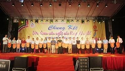 Khai mạc Chung kết liên hoan văn nghệ các làng, khu phố thị xã Đông Triều