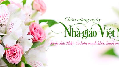 Không nhận hoa chúc mừng ngày Nhà giáo Việt Nam
