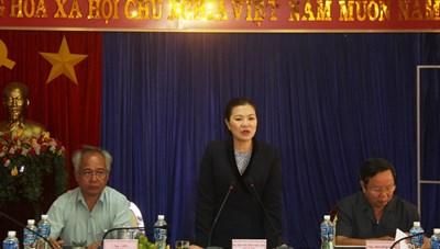 Kiểm tra công tác Mặt trận tại tỉnh Kon Tum