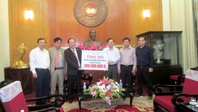 Mặt trận Bắc Giang hỗ trợ 300 triệu đồng khắc phục cơn bão số 12