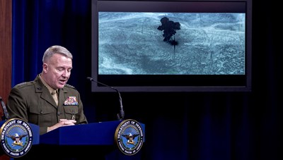 Mỹ công bố đoạn băng đột kích thủ lĩnh IS