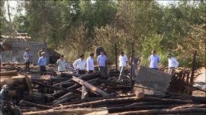 Cà Mau điều tra nguyên nhân cháy xưởng gỗ thiệt hàng trăm triệu đồng