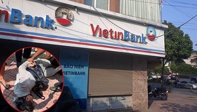 Táo tợn cướp ngân hàng giữa ban ngày