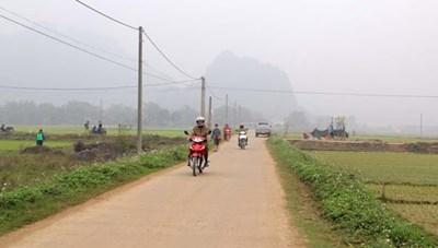 Kim Bôi (Hòa Bình): Đổi thay ở xã nông thôn mới Vĩnh Đồng