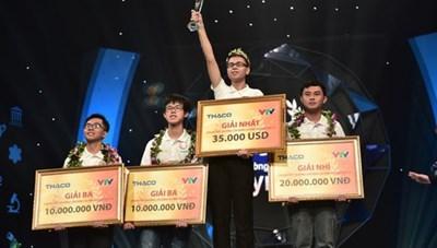 Nam sinh Nghệ An xuất sắc vô địch Đường lên đỉnh Olympia năm thứ 19