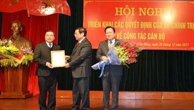 Ông Lại Xuân Môn giữ chức Bí thư Tỉnh ủy Cao Bằng