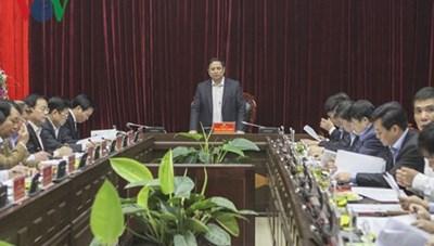 Ông Phạm Minh Chính làm việc với lãnh đạo chủ chốt tỉnh Điện Biên