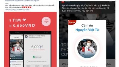 Người dùng VinID ủng hộ phòng, chống Covid-19 hơn 1,5 tỷ đồng sau 1 tuần quyên góp