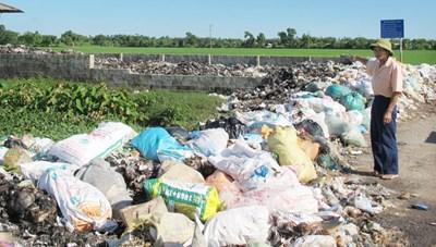 Quá tải rác thải nông thôn