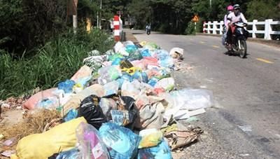 Quảng Nam: Không để xảy ra 'điểm nóng' tại khu xử lý rác thải Tam Xuân 2