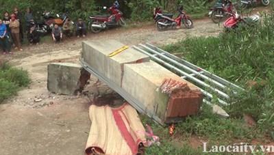Sập cổng trường học, một học sinh thiệt mạng