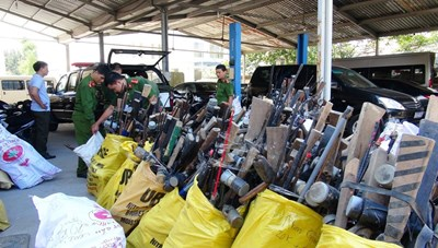 Miền núi Quảng Nam: Nan giải tình trạng sử dụng vũ khí trái phép