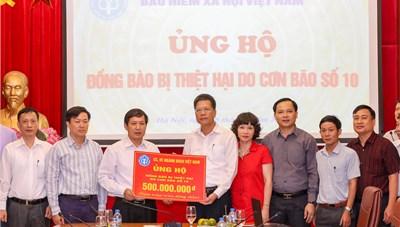 Thêm 500 triệu ủng hộ miền Trung thông qua UBTƯ MTTQ Việt Nam