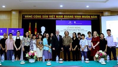 Thiết kế logo kỷ niệm 45 năm quan hệ ngoại giao Australia và Việt Nam