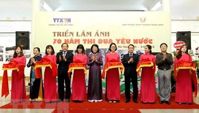 Thông tấn xã Việt Nam tổ chức triển lãm ảnh 70 năm thi đua yêu nước