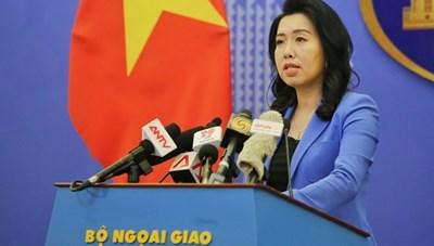Việt Nam mong muốn quyền lợi hợp pháp của các quốc gia phù hợp với UNCLOS 1982 được tôn trọng