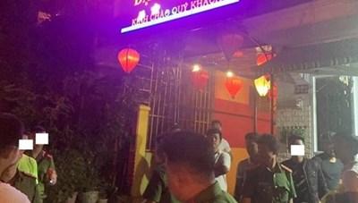 Phát hiện 25 nam nữ phê ma túy trong quán karaoke
