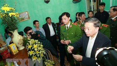 Công nhận liệt sỹ cho ba chiến sỹ công an hy sinh ở Đồng Tâm