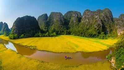 Tuần Du lịch Ninh Bình 'Sắc vàng Tam Cốc - Tràng An'