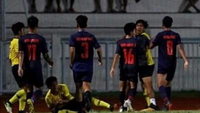 [VIDEO] Cận cảnh U15 Thái Lan và U15 Malaysia đánh nhau ở chung kết