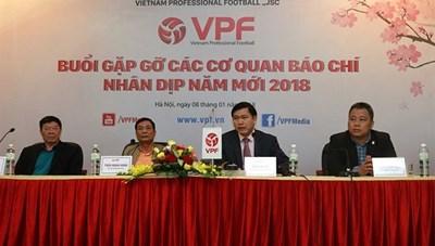VPF vẫn đang thương thảo tìm nhà tài trợ mới cho V-League 2018