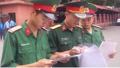 Điểmsàncác trường Quân đội năm 2019: Thấp nhất là 15 điểm