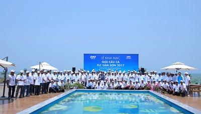 150 cần thủ tranh tài trong Giải câu cá FLC Sầm Sơn 2017