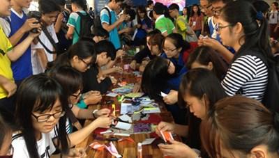 25.000 thanh, thiếu niên tham gia Liên hoan Tuổi trẻ sáng tạo