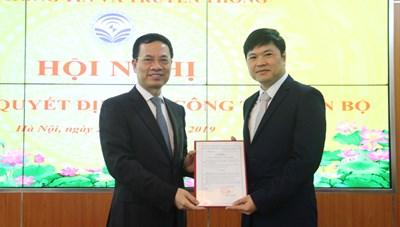 Bộ Thông tin và Truyền thông bổ nhiệm Cục trưởng Cục Viễn thông