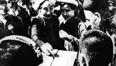 70 năm ngày Tổng tuyển cử đầu tiên (6-1-1946 - 6-1-2016): Trí tuệ nhân dân