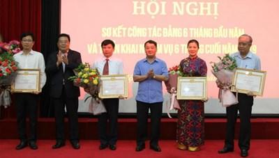 Đảng bộ Cơ quan UBTƯ MTTQ Việt Nam sơ kết công tác 6 tháng đầu năm 2019