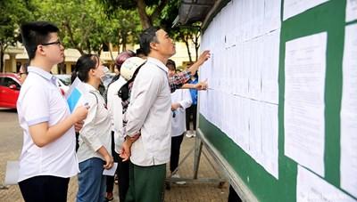 Hà Nội công bố điểm chuẩn các trường THPT công lập