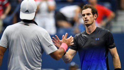 Andy Murray và hàng loạt hạt giống sớm dừng bước ở US Open 2018