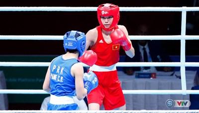 ASIAD ngày 31/8: Nữ võ sĩ Boxing Việt Nam giành Huy chương
